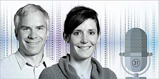 Martin Ackermann et Tanja Stadler (Image: ETH Zürich)