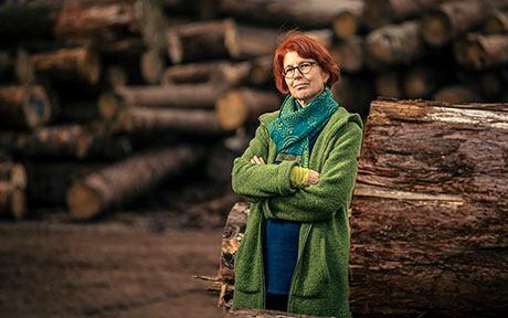Astrid Björnsen a dirigé le programme de recherche Energy Change Impact, commun au WSL et à l'Eawag. (©Kellenberger Kaminsiki Photographie)